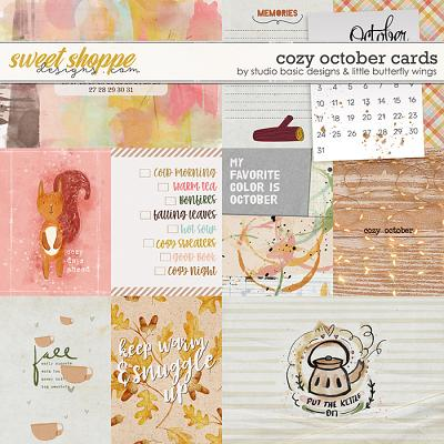 Cozy October Cards by Studio Basic and Little Butterfly Wings