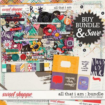 All That I Am - Bundle  by Amanda Yi & Red Ivy Design
