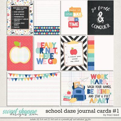 School Daze Journal Cards #1 by Traci Reed