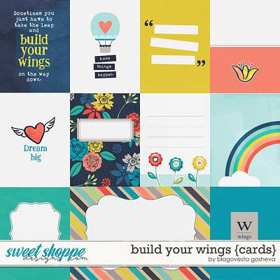 Build your wings {cards} by Blagovesta Gosheva