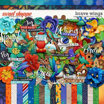 Brave Wings by WendyP Designs