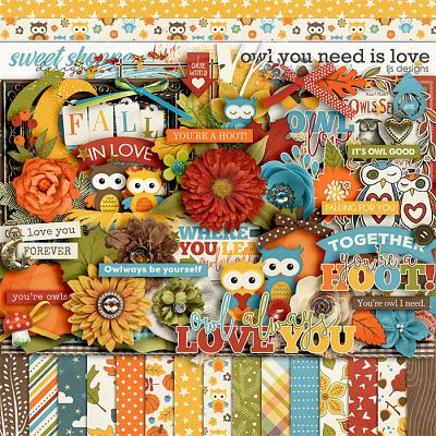 Owl You Need Is Love by LJS Designs