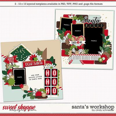 Cindy's Layered Templates - Santa's Workshop by Cindy Schneider