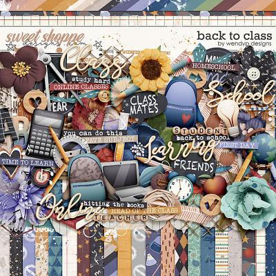 Back to Class by WendyP Designs