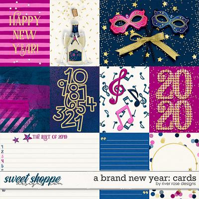 A Brand New Year: Cards by River Rose Designs