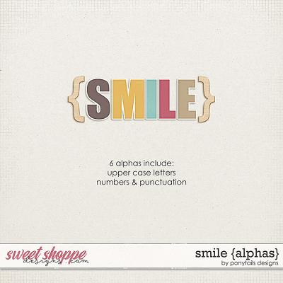 Smile Alphas by Ponytails