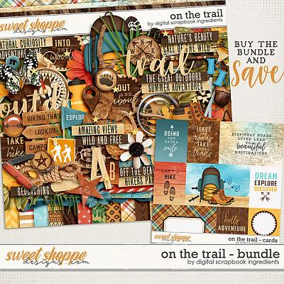 On The Trail Bundle by Digital Scrapbook Ingredients