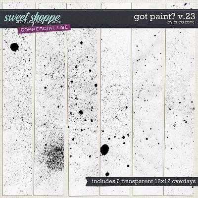 Got Paint? v.23 by Erica Zane