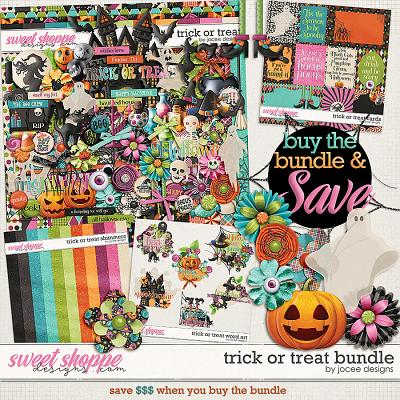 Trick or Treat Bundle by JoCee Designs