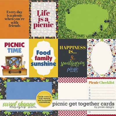 Picnic Get Together Cards by JoCee Designs
