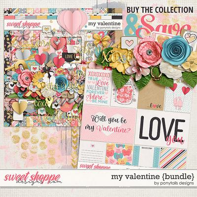 My Valentine Bundle by Ponytails