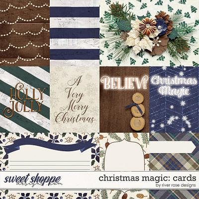 Christmas Magic: Cards by River Rose Designs