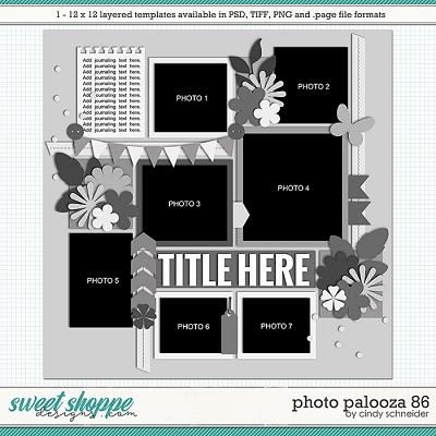 Cindy's Layered Templates - Photo Palooza 86 by Cindy Schneider