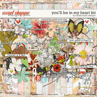 You'll Be In My Heart Kit by Studio Basic