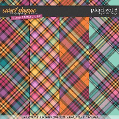 Plaid VOL 6 by Studio Flergs