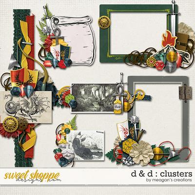 D & D : Clusters by Meagan's Creations