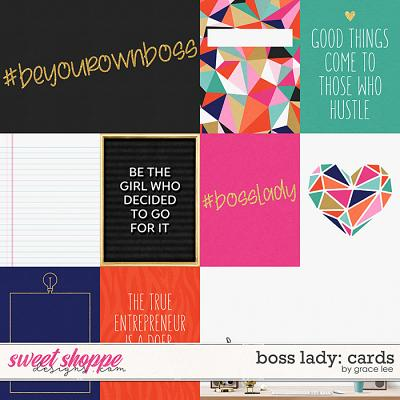 Boss Lady: Cards by Grace Lee