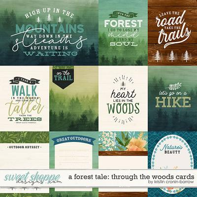 A Forest Tale: Through the Woods Cards by Kristin Cronin-Barrow
