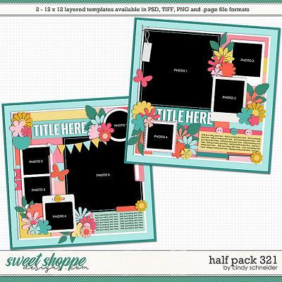 Cindy's Layered Templates - Half Pack 321 by Cindy Schneider