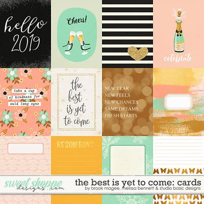 The Best is Yet to Come-Cards by Brook Magee, Melissa Bennett & Studio Basic Designs