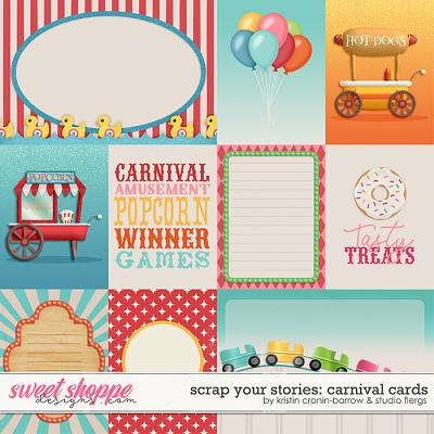Scrap Your Stories: Carnival- CARDS by Studio Flergs & Kristin Cronin-Barrow