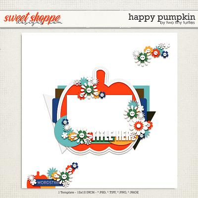 Happy Pumpkin by Two Tiny Turtles