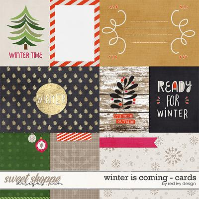 Winter is Coming - Cards by Red Ivy Design