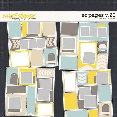 EZ Pages v.20 Templates by Erica Zane
