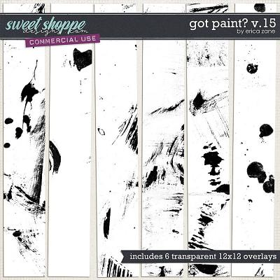 Got Paint? v.15 by Erica Zane