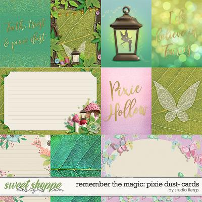 Remember the Magic: PIXIE DUST- CARDS by Studio Flergs