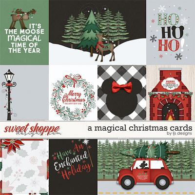A Magical Christmas Cards by LJS Designs