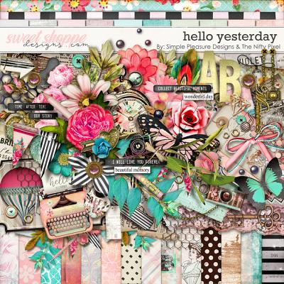 hello yesterday Kit: By Simple Pleasure Designs & The Nifty Pixel