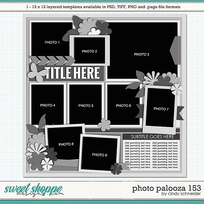 Cindy's Layered Templates - Photo Palooza 153 by Cindy Schneider