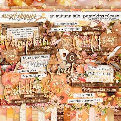 An Autumn Tale: Pumpkins Please by Kristin Cronin-Barrow