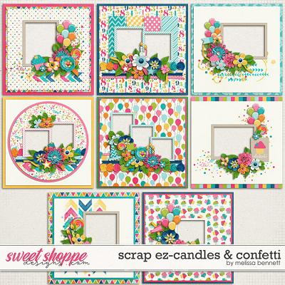 Scrap EZ-Candles & Confetti by Melissa Bennett