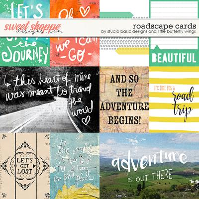 Roadscape Cards by Studio Basic Little Butterfly Wings