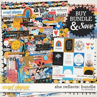 She reflects: Bundle by Amanda Yi