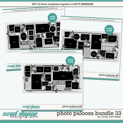 Cindy's Layered Templates - Photo Palooza Bundle 33 by Cindy Schneider