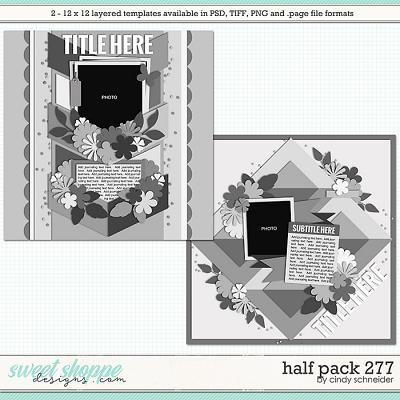 Cindy's Layered Templates - Half Pack 277 by Cindy Schneider