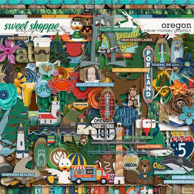 Oregon by Clever Monkey Graphics
