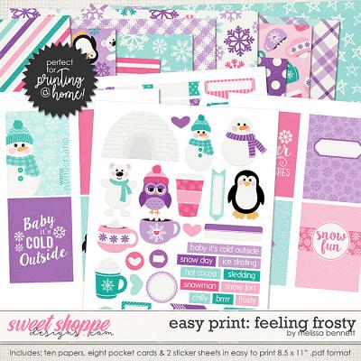 Easy Print: Feeling Frosty by Melissa Bennett