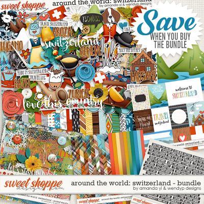 Around the world: Switzerland bundle by Amanda Yi & WendyP Designs