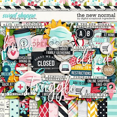 The New Normal by Digital Scrapbook Ingredients