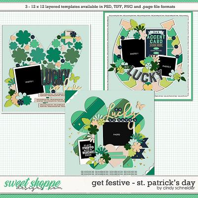 Cindy's Layered Templates - Get Festive: St. Patrick's Day by Cindy Schneider