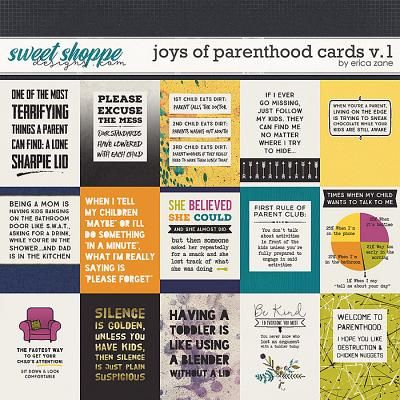 Joys of Parenthood: Cards v.1 by Erica Zane