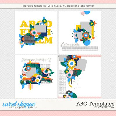 ABC Templates by Crystal Livesay