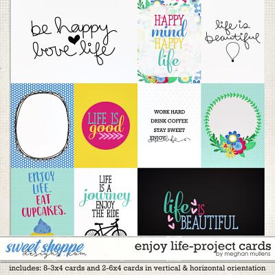 Enjoy Life-Card Pack by Meghan Mullens