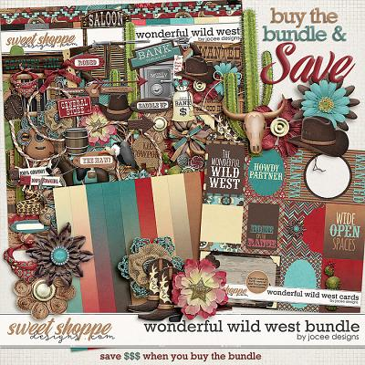 Wonderful Wild West Bundle by JoCee Designs