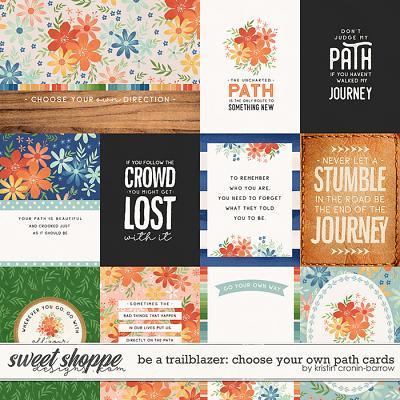 Be a Trailblazer: Choose your own Path cards by Kristin Cronin-Barrow