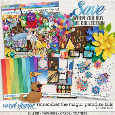 Remember the Magic: PARADISE FALLS- COLLECTION & *FWP* by Studio Flergs